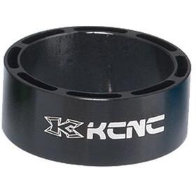 """KCNC Hollow Design Espaciador Dirección 1 1/8"""" 14mm, negro"""